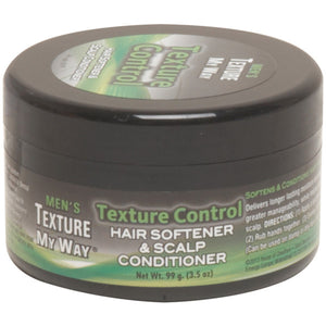 TEXTURE MY WAY MENS HAIR & SCALP CONDITIONER 3.5 OZ