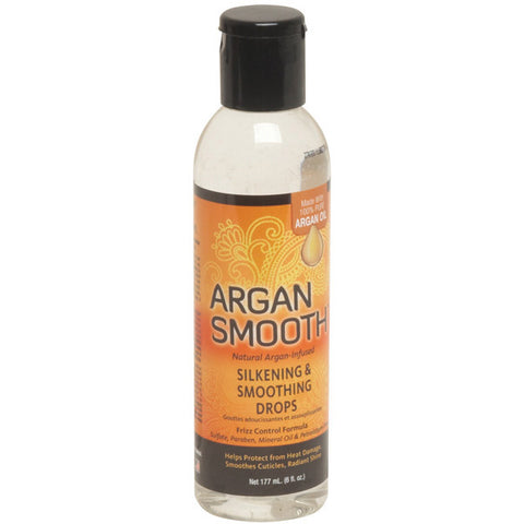 Argan Smooth SILKENING SMOOTHING DROPS 6 Oz