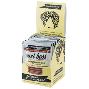 AUNT JACKIES PACKET 1.75 OZ - CURL BOSS (12PK DISP)