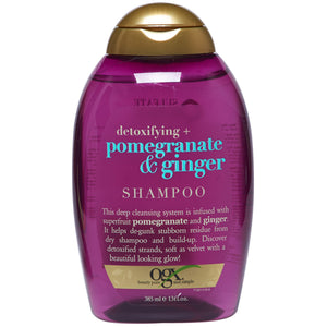 OGX Detoxifying + Pomegranate & Ginger SHAMPOO 13 Oz