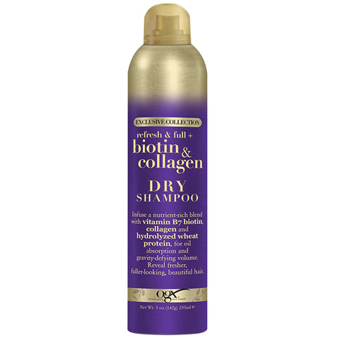 OGX Thick & Full Biotin & Collagen DRY SHAMPOO 5 Oz