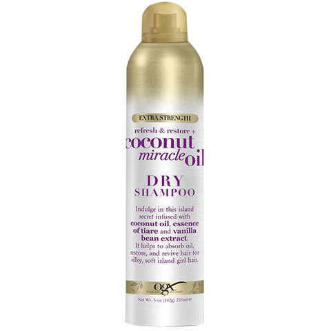 OGX Refresh & Restore+ COCONUT MIRACLE OIL Extra Strength DRY SHAMPOO 5 Oz