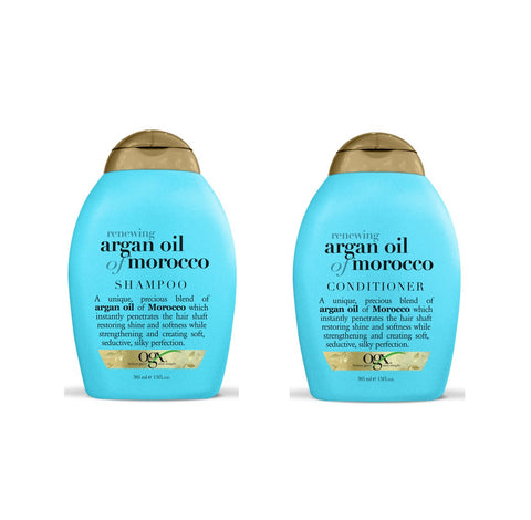 OGX Renewing Argan Oil of Morocco SHAMPOO & CONDITIONER (Combo Set)