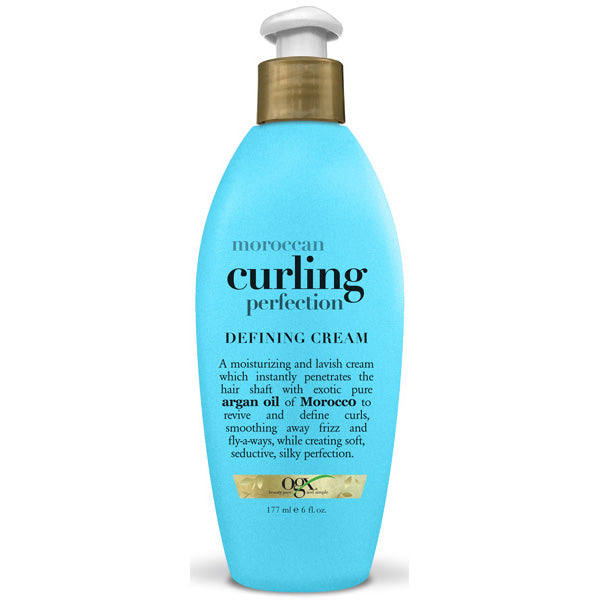 OGX Moroccan Argan Oil of Morocco CURLING DEFINING CREAM 6 Oz