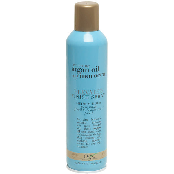 OGX  Renewing Argan Oil of Morocco Elevated Finish Spray, 8.5 Ounce