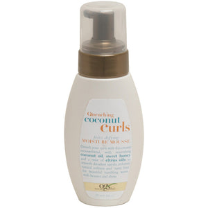 OGX Quenching+ Coconut Curls Frizz-Defying Moisture Mousse 7 Oz