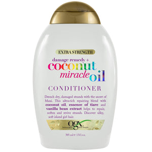 OGX Extra Strength Damage Remedy+ Coconut Miracle Oil CONDITIONER 13 Oz