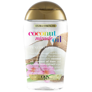 OGX Extra Strength Damage Remedy+ Coconut Miracle Penetrating Oil, 3 Oz