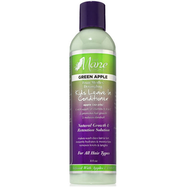 MANE CHOICE KIDS GREEN APPLE DETANGLING LEAVE-IN CONDITIONER 8 OZ
