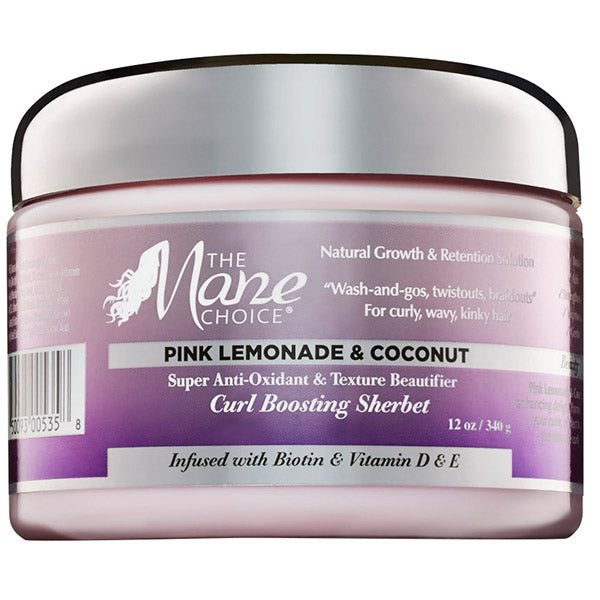 MANE CHOICE PINK LEMONADE CURL BOOSTING SHERBET 12 OZ