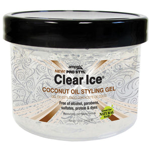 AMPRO GEL CLEAR ICE - COCONUT OIL 12 Oz