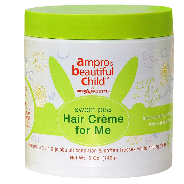 AMPRO BEAUTIFUL CHILD HAIR CREAM FOR ME 5 Oz