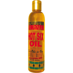 B&B African Royale Hot Six Oil 8 Oz