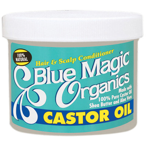 Blue Magic HAIR & SCALP CONDITIONER ORGANICS CASTOR OIL - Hair Care Products - Express Beauty USA