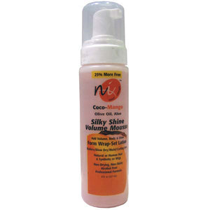 NEXT IMAGE COCO MANGO SHEA SILKY SHINE VOLUME MOUSSE 8oz
