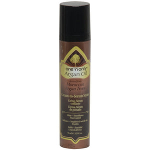 One 'N Only Argan Oil Cream To Serum Styler from Moroccan Argan Trees, 3.25 oz