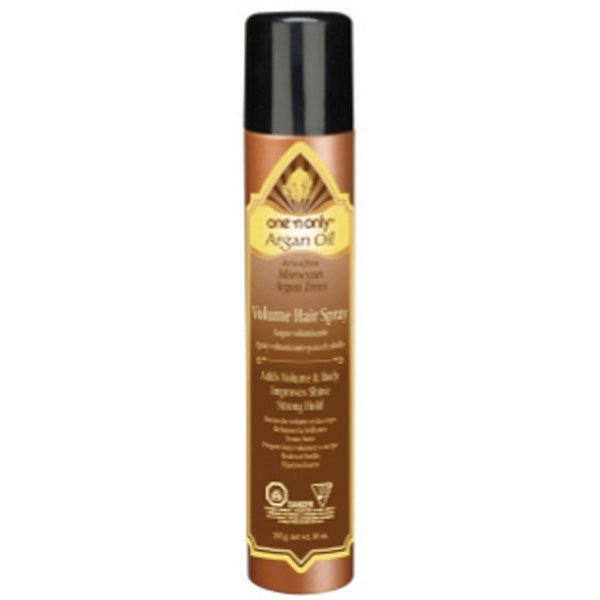 One 'N Only Argan Oil Volume HAIR SPRAY 10 OZ
