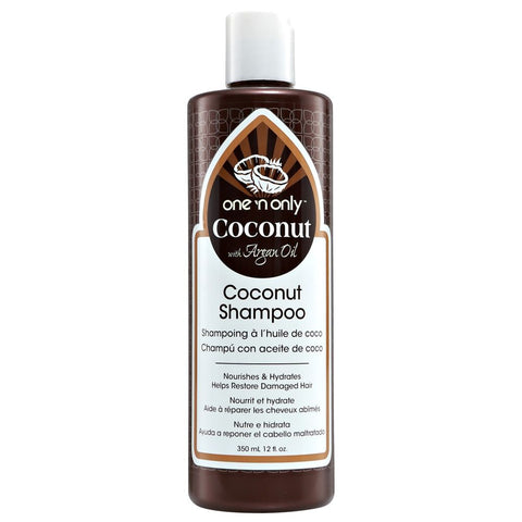 One 'N Only Coconut Oil shampoo With Argan Oil 12 Oz