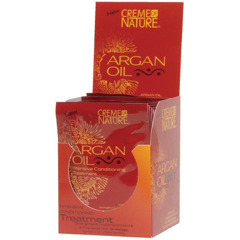 Creme Of Nature Argan Oil Intensive Conditioning Treatment 1.75 Oz (12 DISP)