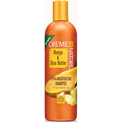 Creme Of Nature Mango & Shea Butter. Ultra-Moisturizing Shampoo 12 Oz