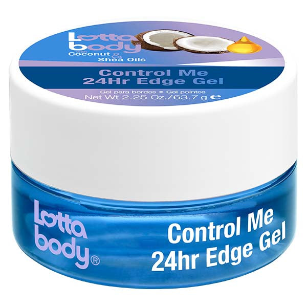 Lottabody Coconut & Shea Oil CONTROL ME 24hr EDGE GEL 2.25 OZ