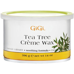 GIGI TEA TREE CREAM WAX 14 OZ