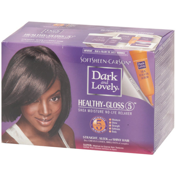 DARK N LOVELY NO LYE RELAXER KIT-REGULAR or SUPER