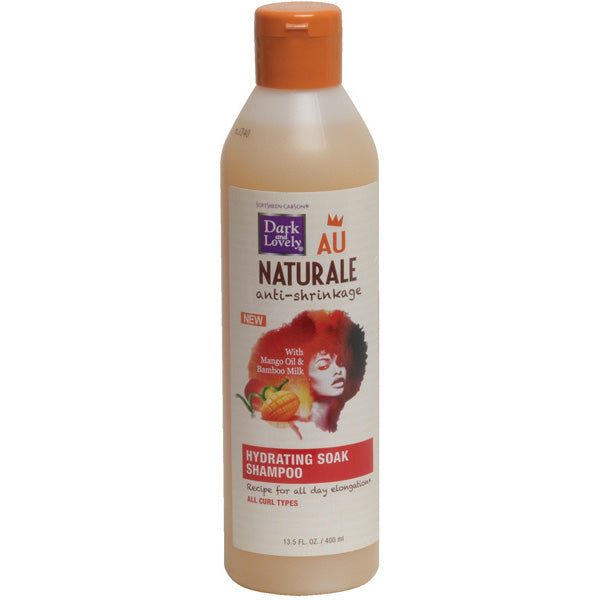 DARK N LOVELY AU NAT ANTISHRINK SHAMPOO 13.5 OZ-HAYDRATING