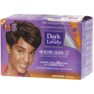 DARK N LOVELY NO LYE RELAXER KIT-COLOR TREATED HAIR