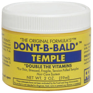 DONT BE BALD HAIR & SCALP TEMPLE 2 Oz* or 4 Oz