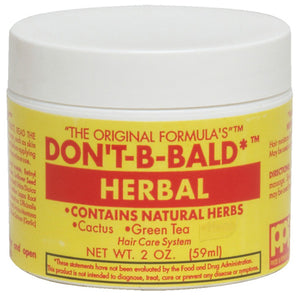 DONT BE BALD HAIR & SCALP HERBAL 2 Oz* or 4 Oz