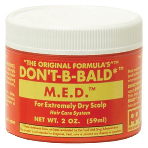 DONT BE BALD HAIR & SCALP M.E.D 2 Oz* or 4 Oz-RED