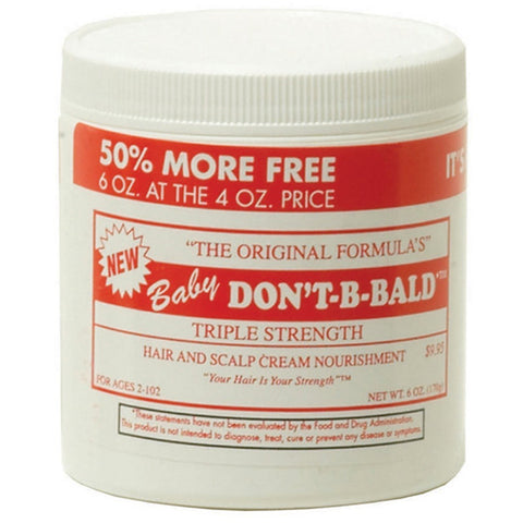 DONT BE BALD HAIR & SCALP DRESS-BABY 4 OZ
