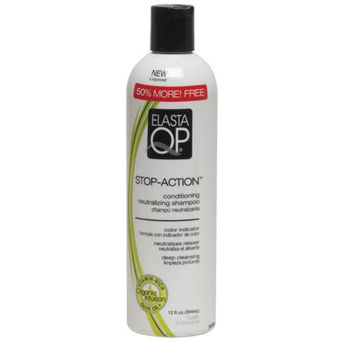 QP STOP ACTION-NEUT SHAMPOO 8 OZ