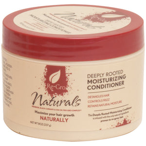 RE-GRO NATURALS DEEP ROOTED CONDITIONER 8 OZ*