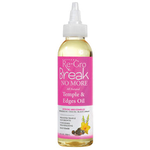 RE-GRO BREAK NO MORE TEMPLE & EDGE OIL 4 OZ*