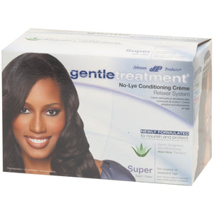 Gentle Treatment No-Lye Conditioning Creme Relaxer System, Super