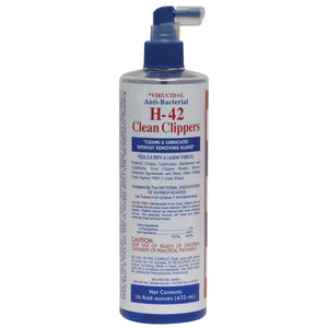 H-42 SPRAY CLIPPER CLEANER 16 OZ