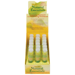 HASK NATURAL ESSENTIAL CONDITIONING TREATMENT VIAL 5/8 Oz (18P)
