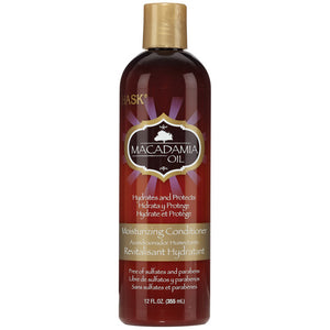 Hask Macadamia Oil Moisturizing CONDITIONER 12 Oz