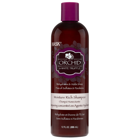 Hask Orchid & White Truffle Moisture Rich SHAMPOO 12 Oz