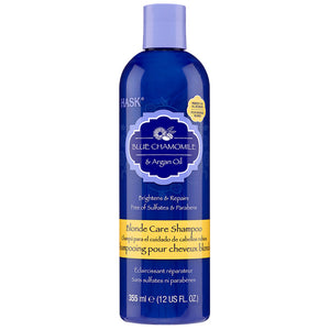 Hask Blue Chamomile & Argan Oil BLONDE SHAMPOO 12 Oz