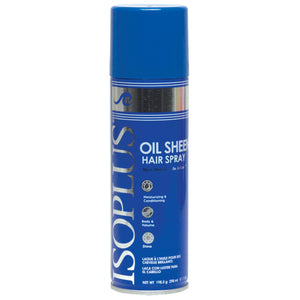 Isoplus OIL SHEEN HAIR SPRAY DRAMATIC SHINE 7 OZ