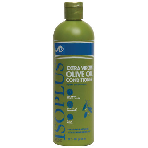 ISOPLUS EXTRA VIRGIN OLIVE OIL CONDITIONER 16 OZ