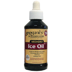 GROGANICS MEDIGRO ICE OIL 4 OZ