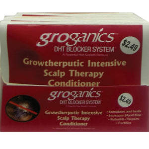 GROGANICS SCALP THERAPY PACKET 1.75 OZ(12PK)
