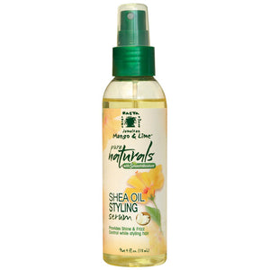 Jamaican Mango&Lime PURE NATURAL SHEA OIL STYLING SERUM 4 OZ
