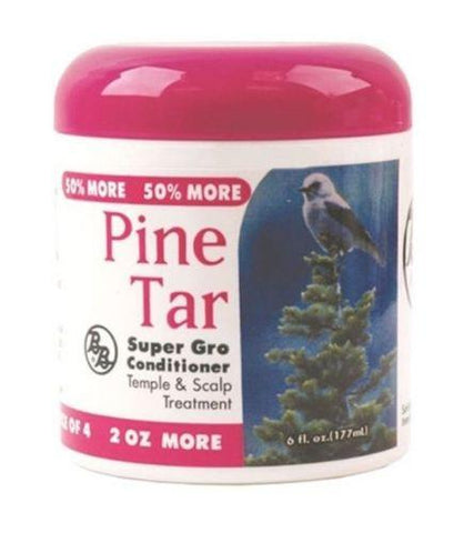 B&B PINE TAR SUPER GRO CONDITIONER - 6 Oz - All Products - Express Beauty USA
