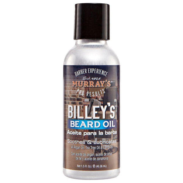 MURRAY'S BILLEY'S BEARD OIL SOOTHES & LUBRICATES 1.5 OZ