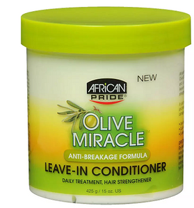African Pride Olive Miracle LEAVE-IN CONDITIONER - Conditioner - Express Beauty USA